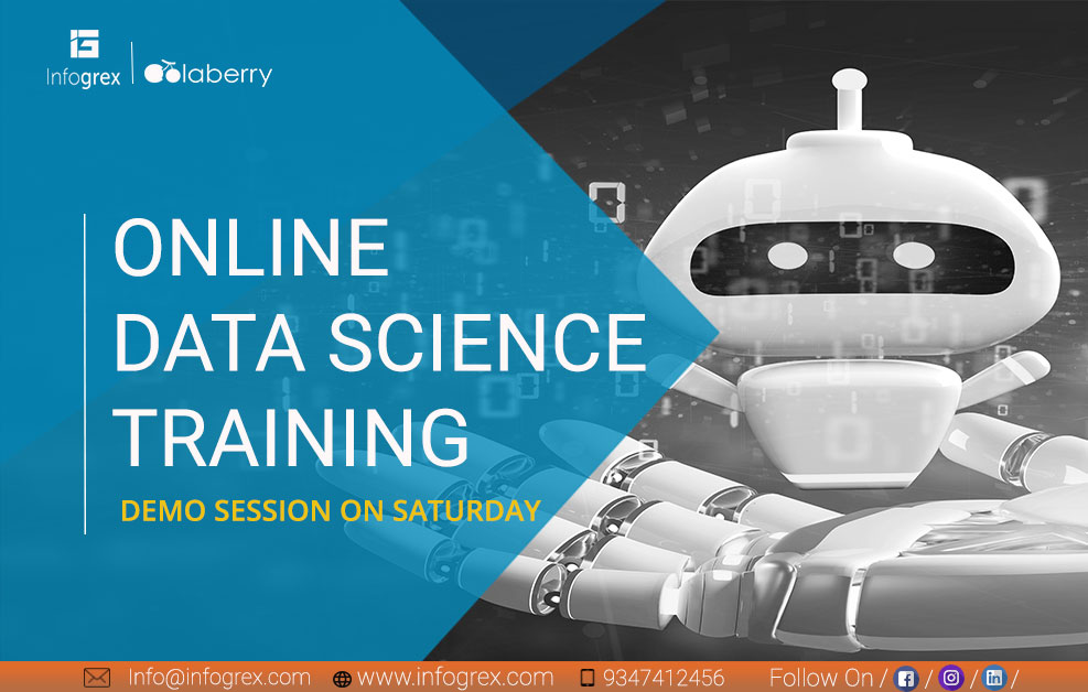 Learn Data Science Through Online tickets - infogrexnew